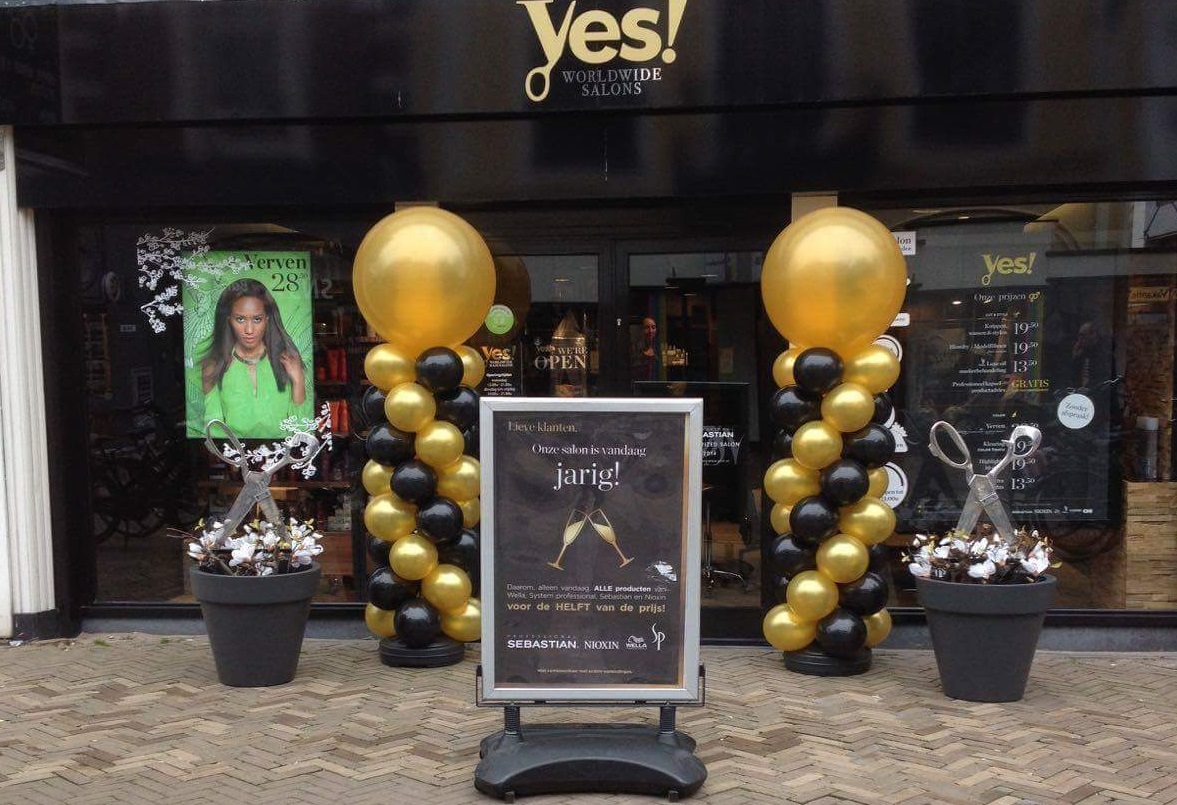 Yes Hairsalons Deventerstraat Apeldoorn