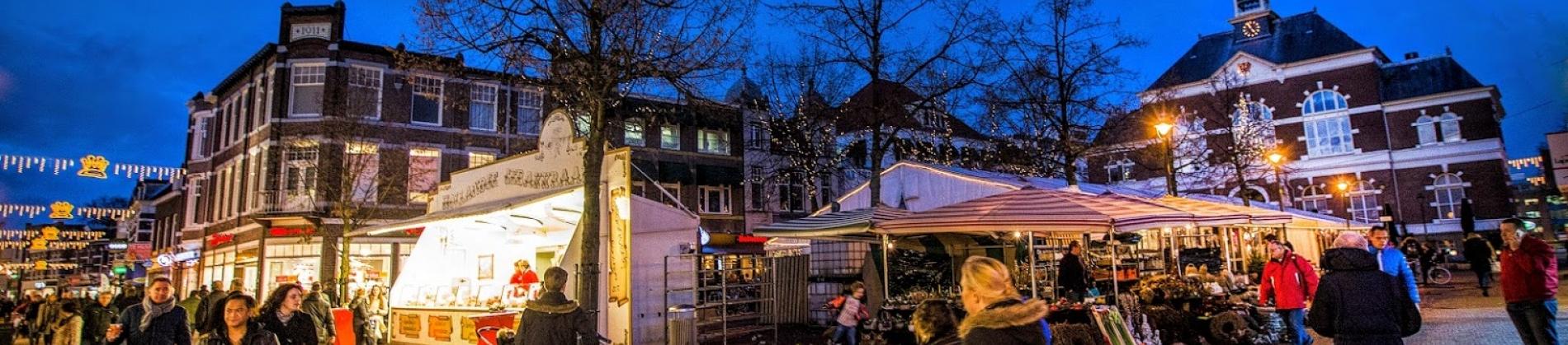 Apeldoorn binnenstad wintertijd